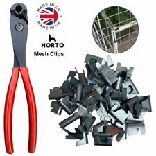 More details for wire mesh clips (large) gabions, cage making, mesh panels *uk made* clips ct35