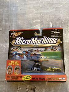 Winners Circle 1999 Micro Machines Dueling Drivers Dale Earnhardt vs Steve Park