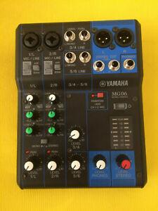 Yamaha MG06 6 Input Mixer