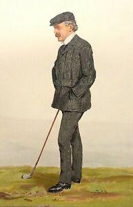 David Lloyd George  by SPY c1910 Original World Supplement British statesman
