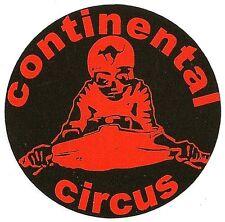 Sticker CONTINENTAL CIRCUS  88mm