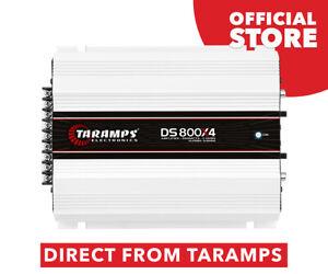 Taramps DS 800x4 800 watts 2 Ohms Amplifier Class D 4 Channel 800W RMS