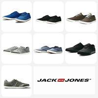 Mens Designer Jack Jones Jeans Low Canvas Footwear Trainers Shoes Pumps Sneakers
