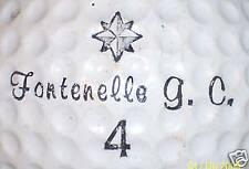 (1) Vintage Fontenelle Gc Course Logo Golf Ball Balls