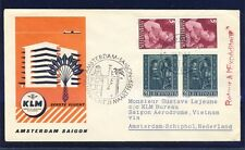 43109) KLM FF Amsterdam - Saigon Vietnam 31.3.59 SoU ab Liechtenstein