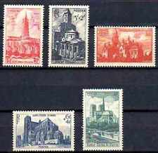 France 1947 Yvert n° 772 à 776 neuf ** 1er choix