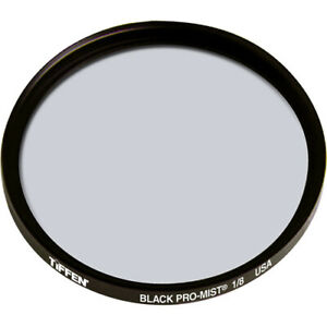 New Tiffen 77mm Black Pro-Mist 1/8 Filter Halation Diffusion Filters # 77BPM18