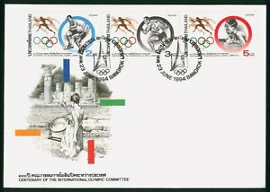 Mayfairstamps Thailand 1994 Olympics Combo First Day Cover wwp1183