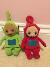 Teletubbies Sitting Po and Dipsy Soft Toys Plush Cbeebies