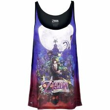 8718526521375 Bioworld T-shirt Nintendo - Zelda Majora's Mask Ladies Tank Top (t