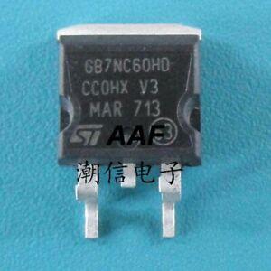 5PC  GB7NC60HD STGB7NC60HD new FET 14A600V
