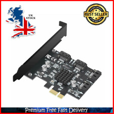 4 Port SATA III PCIe 3.0 X1 Controller Card PCI Express To SATA 3.0 6G Marvell 8