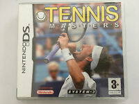 Tennis Masters For Nintendo DS, DSi & 2DS (New & Sealed)