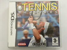 Tennis Masters (Nintendo DS, 2007) - European Version