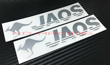 Jaos Stickers Decals 4x4 World Rally Off Road Free Shipping x 2