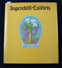 25)Nr.189- EXLIBRIS- Buch/Book Jugendstil / art nouveau Exlibris- Helmut Franck