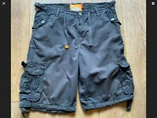 Men's SoulCal&Co Dark Grey Cargo Shorts - waist 36