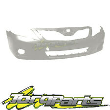 FRONT BAR COVER WHITE SUIT TOYOTA CAMRY ACV40 ALTISE 09-11 SEDAN BUMPER
