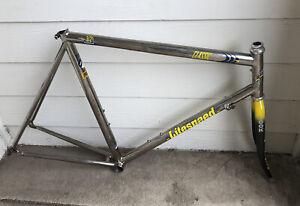 58cm Litespeed Titanium Classic 3/2.5 Frameset w Look Carbon Fork Road Cycling