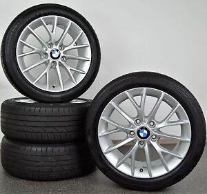 Original BMW Styling 380 Y-Speiche 1er F20 F21 2er 17 Zoll Sommerräder RFT