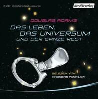 Douglas Adams - Das Leben, das Universum und der ganze Rest 5 CD NEU Hörbuch CDs