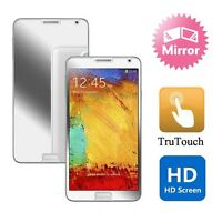 SAMSUNG GALAXY NOTE 4 - MIRROR SCREEN PROTECTOR PREMIUM LCD DISPLAY FILM COVER