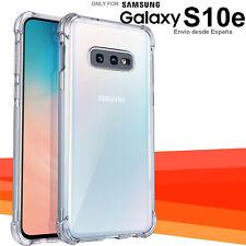 Funda AntiGolpes Antichoque Samsung Galaxy S10e esquinas reforzadas carcasa