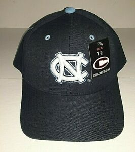 North Carolina Tar Heels Colosseum Navy Fitted Hat    Size 7 3/8