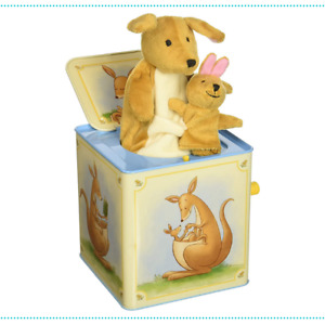 Musical Wind Up Toy Kangaroo Jack in The Box