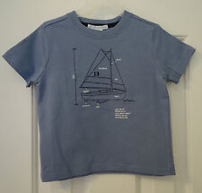 New With Tags  Janie and Jack Sailing Style Sailboat Top~ Boy's Size 6-12 Month