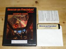 Resue on Fractalus! - Lucasfilm - Disk Version - Atari 800 / XL / 130  XE