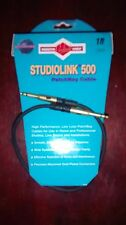 Monster Studiolink 500  PatchBay Cable TT 1 ft, 1 Cable - New, Free Shipping