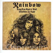 "Rainbow LONG LIVE ROCK N ROLL inutilizzato UK 7"" Deep Purple"