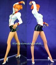 "1/6 Agent Aika: Aika Sumeragi in White  Shirt 11"" Tall Unpainted Resin ModelKit"