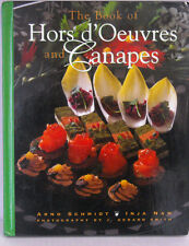 """NEW*NEVER OPENED """"The Book of Hors d'Oeuvres and Canapes~Nam & Schmidt"""" HC"""