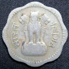 1963 India 10 Paisa Coin
