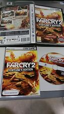 Farcry 2 FORTUNE´S Edition Set PC DVD ROM Pal Manual Spanish