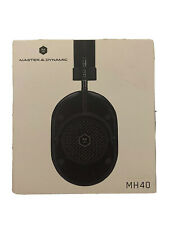 Master & Dynamic Mh40 Over-Ear Headphones - Black - Excellent Condition