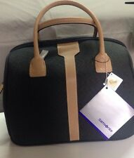 Samsonite Hommage Beauty Case Tote Satchel Travel Bag Purse