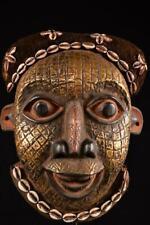 10181 Africano Antiguo Bamun / Bamileke Máscara de Casco Camerún