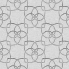 Marrakech Papier Peint Géométrique Argent/Gris - Muriva 601536