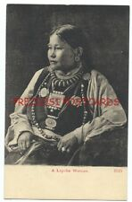 LEPCHA WOMAN Great Jewlery! - Sikkim, Nepal, Bhutan, Darjeeling, India ca1908