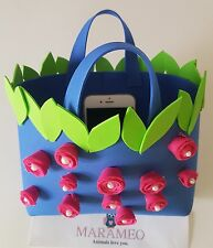 Little Bag Borsa in Gomma Sunny Princess Flower 2017 by Marameo