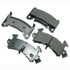 Akebono Ceramic Brake Pad Set for Chevy GMC ACT154 - Made in USA - Ships Fast!
