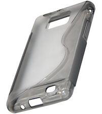Samsung S2 TPU Back Case S Design Handy Hülle Tasche Cover Transparent Matt