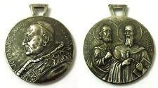 Medaglia Johannes XXIII Pont. Max.– S.Petrus, S.Paulus (Erosi) Metallo Argentato