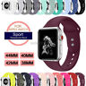 Silicone Sport Watch Band Strap For Apple Watch iWatch 5 4 3 2 40mm 44mm 38/42mm