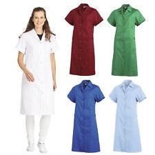 Leiber Damenmantel Mantel Kittel Damen Putzkittel Gastro Arztkittel 1/2 ARM