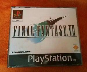 SONY PS1 Playstation 1 Final Fantasy VII PAL 1997