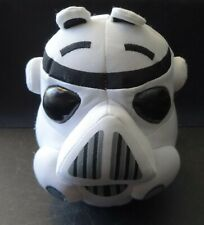 "Angry Birds Star Wars 6"" plush Imperial Storm Trooper Head"